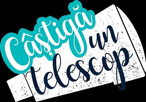 Câştigă un telescop!